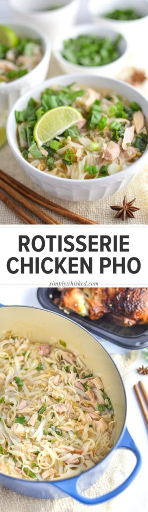 Easy pho with chicken recipe