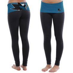 OMG😍  San Jose Sharks Women's Sublime Leggings - Black