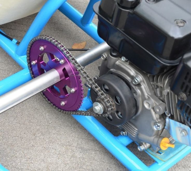 Motorized dtg Drift Trike Gang 6 5HP Blue Purple | eBay