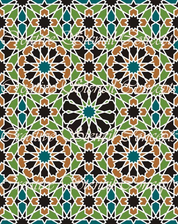 Les 25 meilleures id es concernant mosaique marocaine sur for Dessin mosaique carrelage