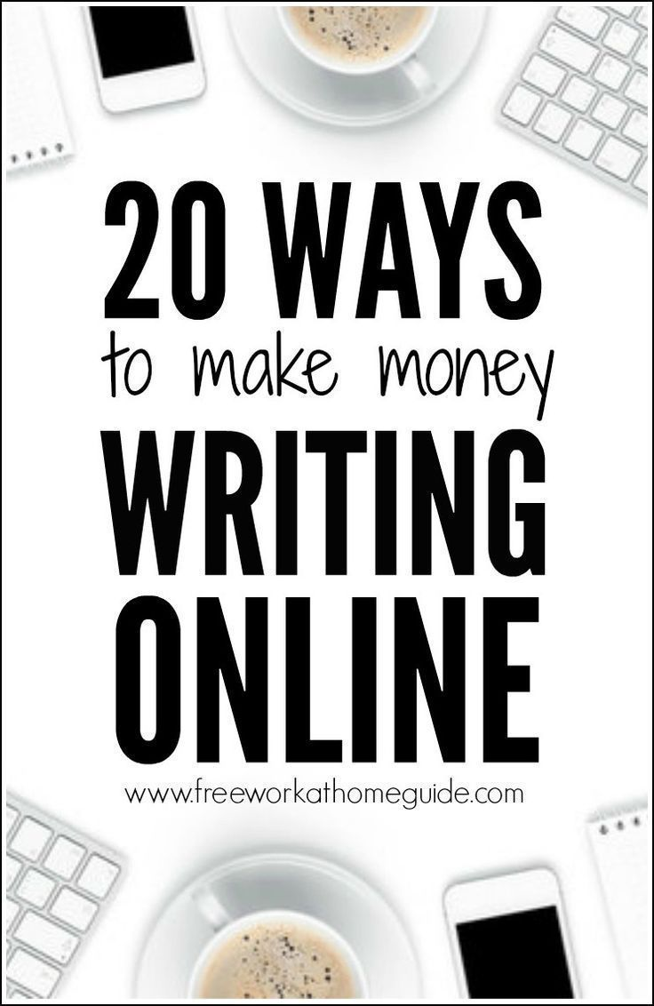 Many freelance writing sites connect freelance writers with clients. Here are 20 ways to make money with online writing jobs and opportunities.