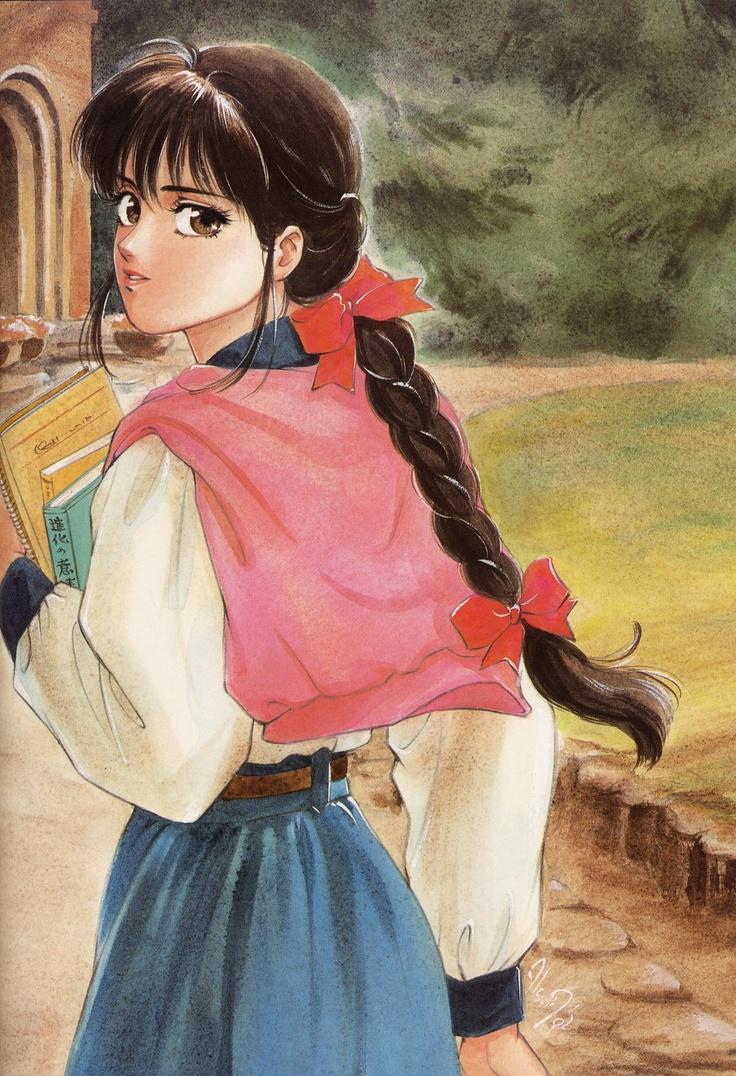 Art by manga artist Akemi Takada.
