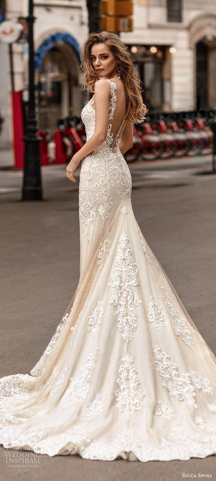 "Ricca Sposa Wedding Dresses 2020 — ""Barcelona"" Bridal"