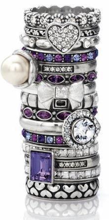Brighton stackable rings