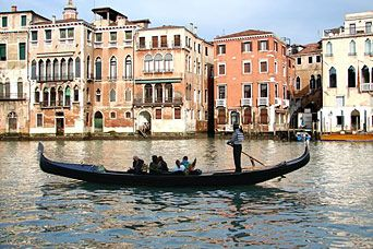 We could also go to Venice, Italy to ride on the Gondolas.