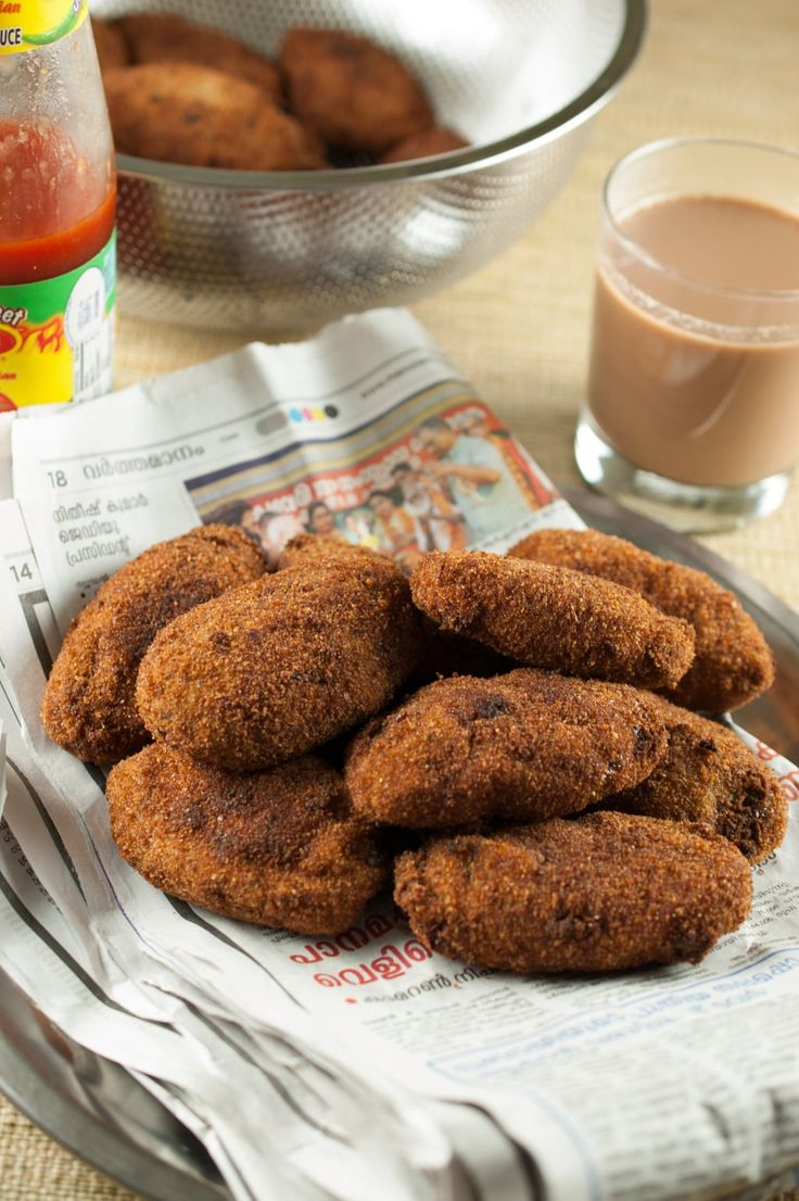 Beef cooked with spices, dipped in an egg mix and then in breadcrumbs and fried. An appetizer which is never missed out at parties especially in a Kerala Christian home. #beefcutlet #beef #croquette #kerala