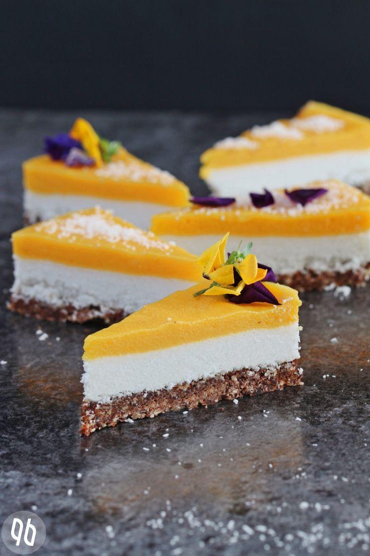 Rezept Rohkostlicher Mango Kokos Kuchen Mit Schokocrunch