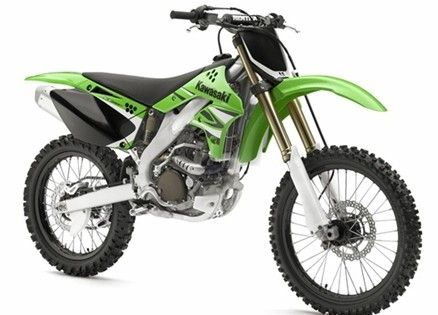 Kawasaki 250 dirt bike... I miss riding!!