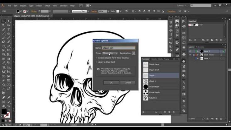 Adobe Illustrator - Spray Tool (Advanced Techniques)