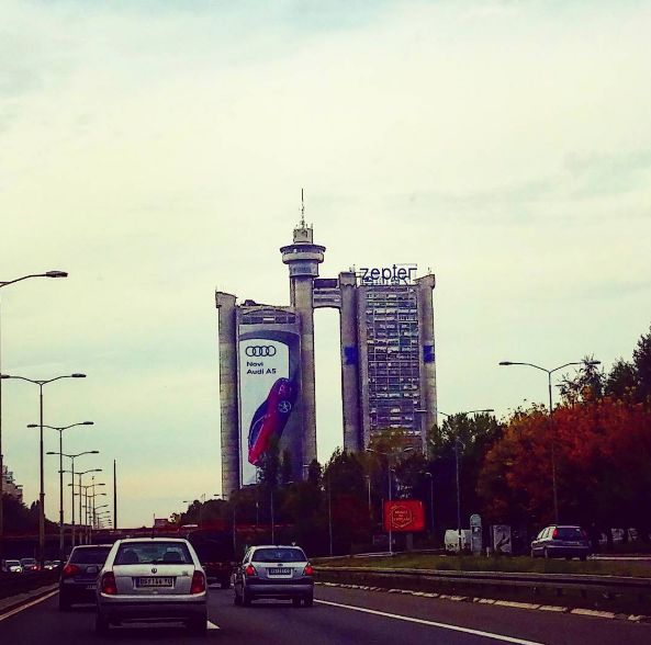 When you see this building you know that you are in #Beograd