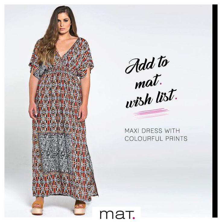 Αυτό το αέρινο & συγχρόνως απολύτως θηλυκό φόρεμα με τα stylish boho chic μοτίβα είναι ό,τι χρειάζεσαι για ανάλαφρες εμφανίσεις, τώρα που η θερμοκρασία ανεβαίνει! Aγορά ➲ code: 671.7409 #matfashion #ootd #ss17 #collection #plussizefashion #psblogger #instafashion #fashionista #fashionista #wishlist