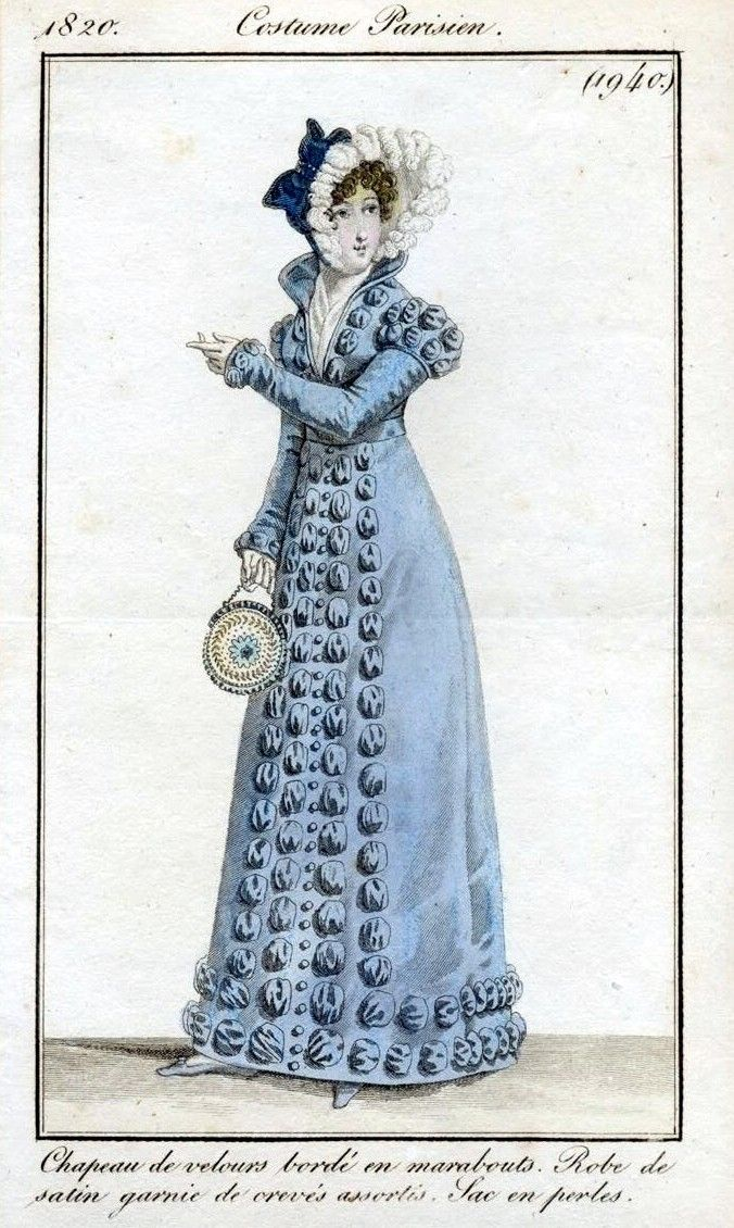 Le Costume Parisien. 1820