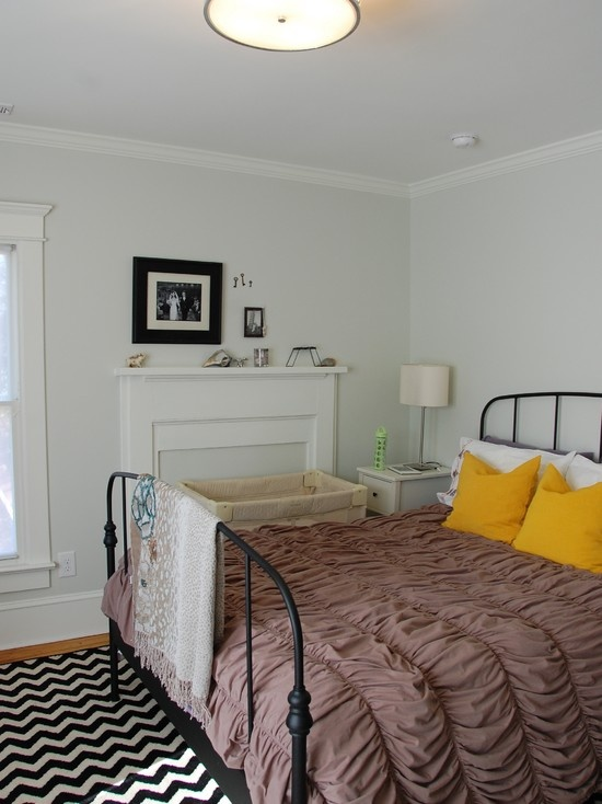 Modern Vintage Bedroom - eclectic - bedroom - raleigh - Four over One Design