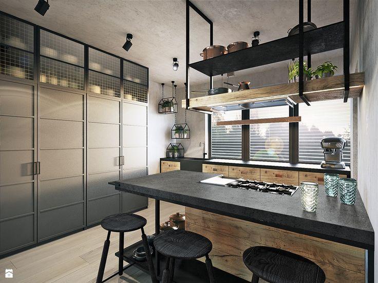 Kuchnia styl Industrialny - zdjęcie od razoo-architekci - Kuchnia - Styl Industrialny - razoo-architekci