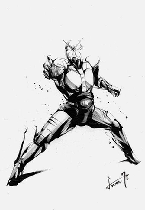 昭和生まれには不動の人気ダークヒーロー。