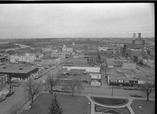 Aerial View of Brandon 1972