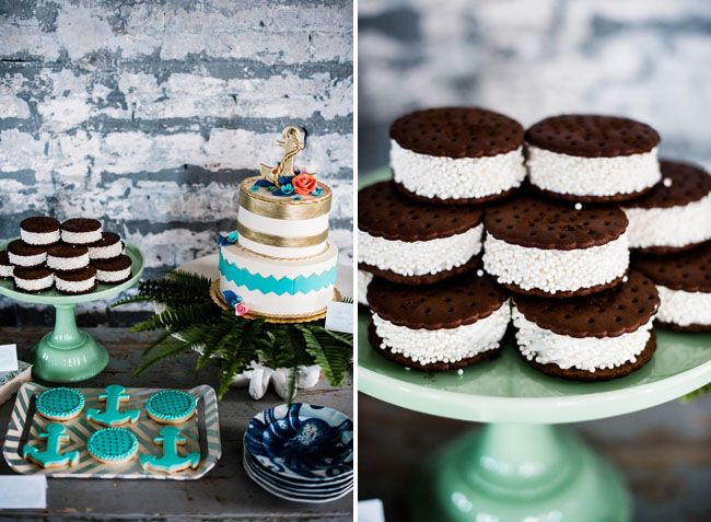Mint + Turquoise Nautical Wedding Inspiration