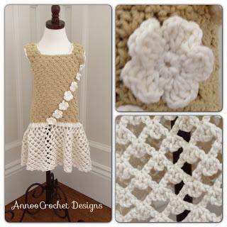 Crochet Pattern For Flower Girl Dress : 112 best images about Crochet dresses on Pinterest 1960s ...