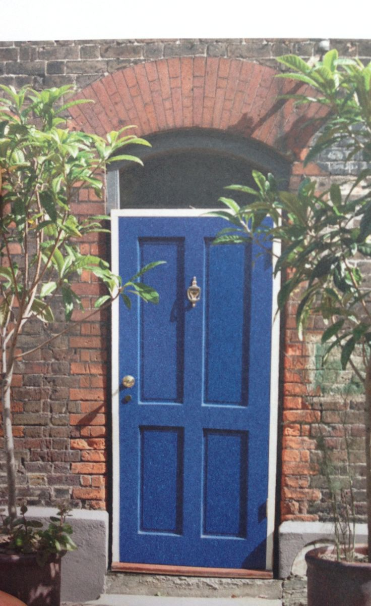 Drawing Room Blue Farrow And Ball Front Door