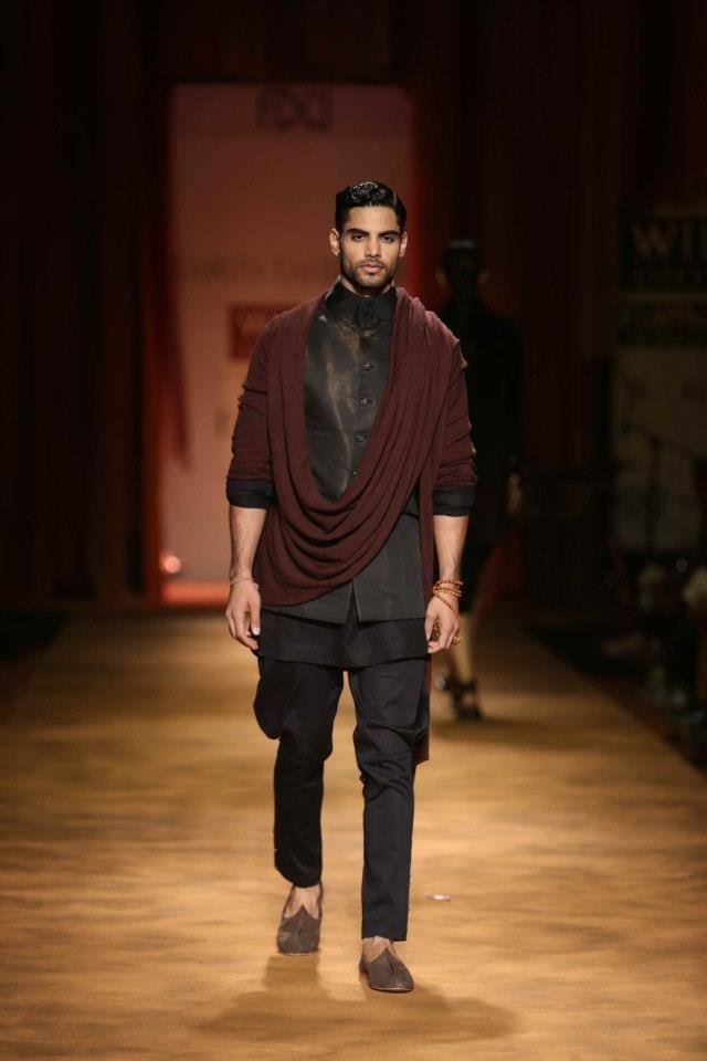Tarun Tahiliani Autumn Winter 2013 at Wills Lifestyle India Fashion Week Delhi