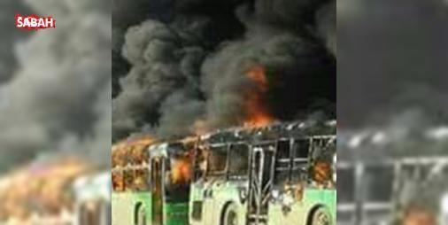 Halepte son durum: Şii milisler otobüsleri ateşe verdi! : Halepte son durum bilgisi: Sabah anlaşılan tahliyeler yeniden başlamak üzereyeken Şii milisler tahliyeyi gerçekleştirecek otobüsleri ateşe verdi.  http://www.haberdex.com/turkiye/Halep-te-son-durum-Sii-milisler-otobusleri-atese-verdi-/130530?kaynak=feed #Türkiye   #verdi #Halep #otobüsleri #ateşe #milisler