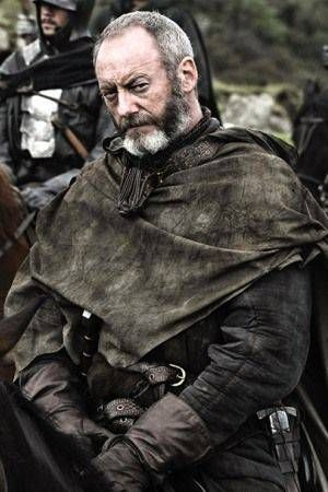 """Liam Cunningham as Ser Davos Seaworth from """"Game of Thrones"""""""