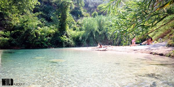 Get ready for the summer! Jump in an italians river.