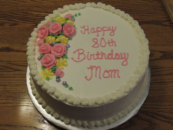Cake Decorating 80th Birthday Ideas : 17 Best images about 80th Birthday Cake ideas on Pinterest ...