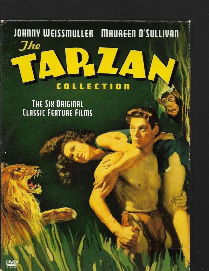 The Tarzan Collection Starring Johnny Weissmuller  DVD