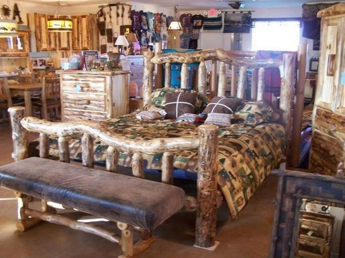 55+ Rustic Bedroom Furniture Inspirations_56 Pictures