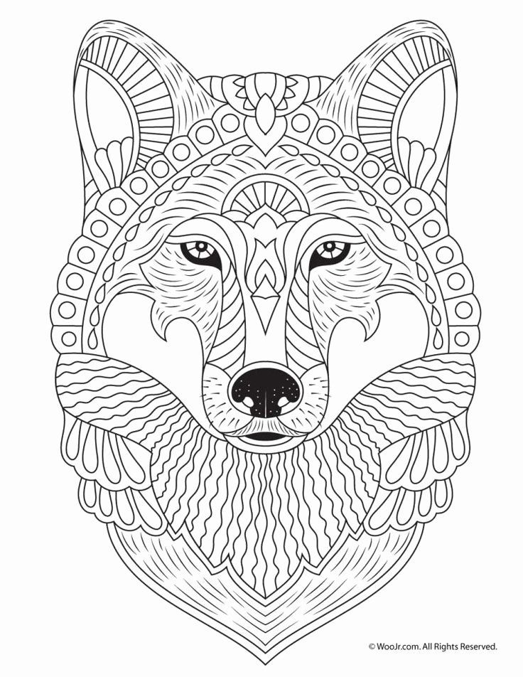 Animals Adult Coloring Pages In 2020 Animal Coloring Pages