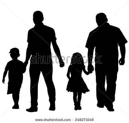 Man Holding Little Girls Hand Isolated Stock Vectors & Vector Clip Art | Shutterstock