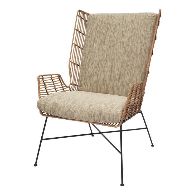 Blondelle Rattan Wingback Chair- wayfiar 700?