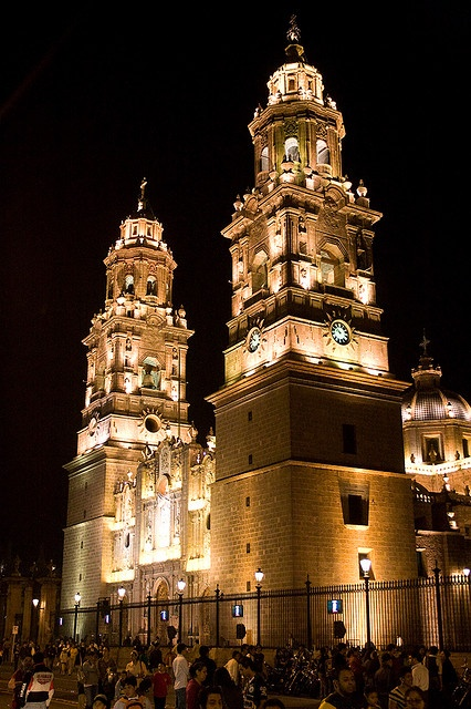 Morelia Cathedral, Michoacan, Mexico.  Photo: Marc Hors, via Flickr