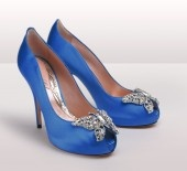 something blue - Aruna Seth: Blue Butterflies, Royals Blue Shoes, Wedding Shoes, Wedding Heels, Aruna Seth, Something Blue, Royals Wedding, Bridal Shoes, Blue Wedding