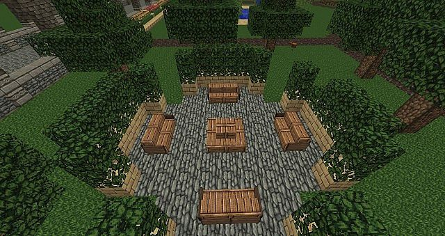 Minecraft park minecraft ideas pinterest minecraft ideas and minecraft buildings - Minecraft garden designs ...