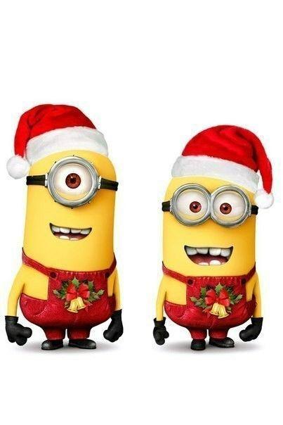 Миньоны  новый год  Pinterest  Minions images, Christmas and Minions
