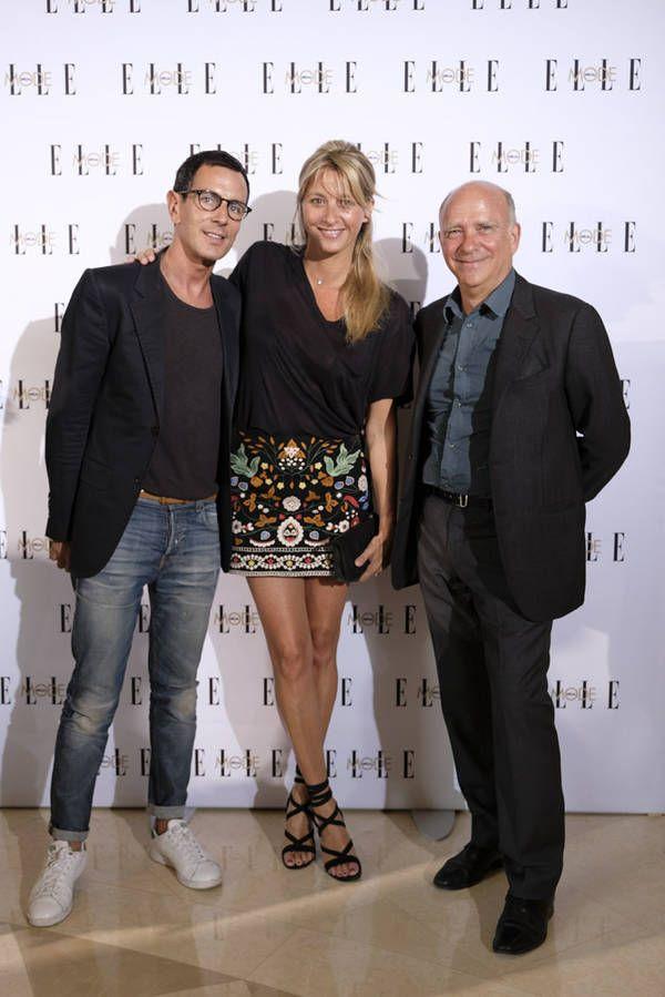 Sarah Lavoine et Yves Salomon