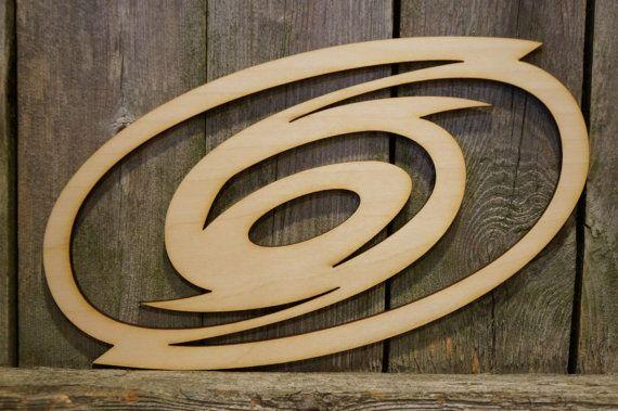 Carolina Hurricanes logo wall hanging