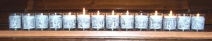 14 Stations of the Cross votive candles