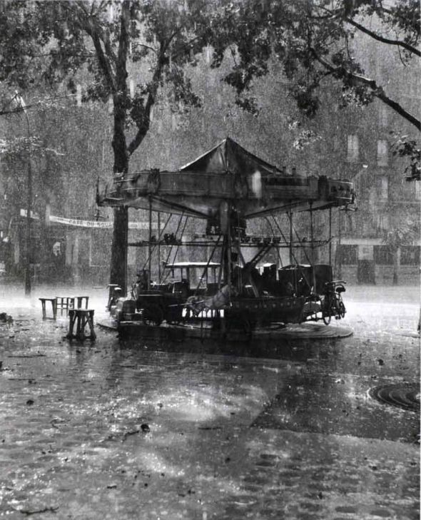 Robert Doisneau,M. Barre's Carousel, 1955