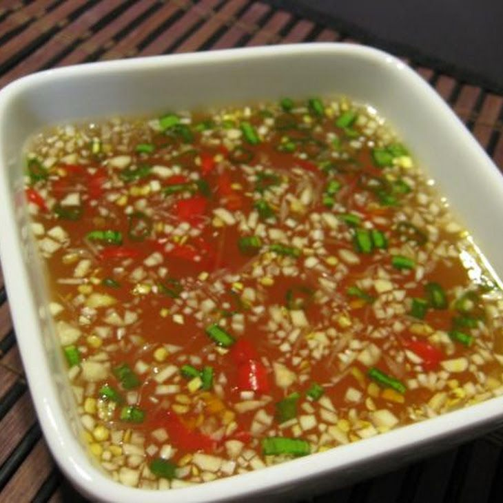 Vietnamese Dipping Sauce (Nuoc Cham) Recipe
