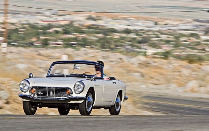 one of my all-time favorite cars: the 1965 Honda S600.