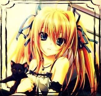Les 25 meilleures id es de la cat gorie fille blonde anime - Image femme manga ...