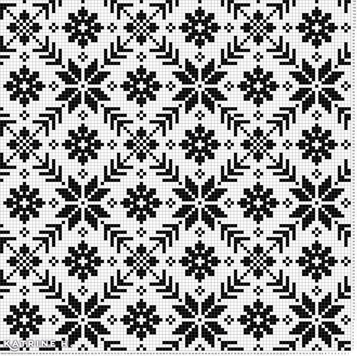 Maskedilla: Koftemønster fra Selbu