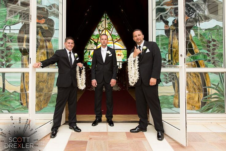 Groomsmen Maui Hawaii. Scott Drexler Photography.Daily Blog feature http://bit.ly/1QXAiEM #lizmooreweddings