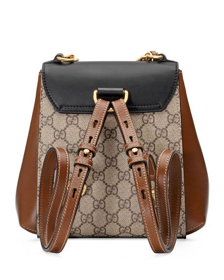 b5e3eecc7 GUCCI GG SUPREME CANVAS & LEATHER PADLOCK BACKPACK - BEIGE, BEIGE-BLACK |  Bolsas | Gucci padlock, Supreme backpack e Bag Accessories
