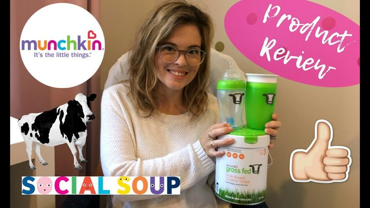Munchkin Toddler PRODUCT REVIEW | Social Soup - YouTube