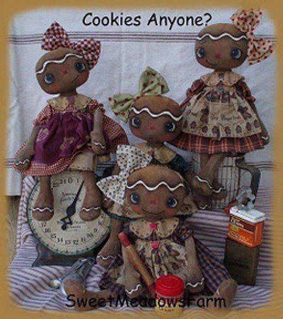 Кофейные куколки. Выкройка.