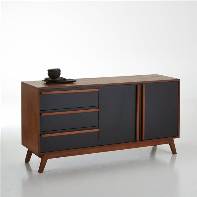 Buffet vintage en noyer watford la redoute interieurs for Sideboard 40 cm